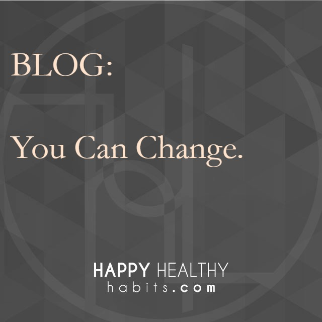 Blog - You Can Change